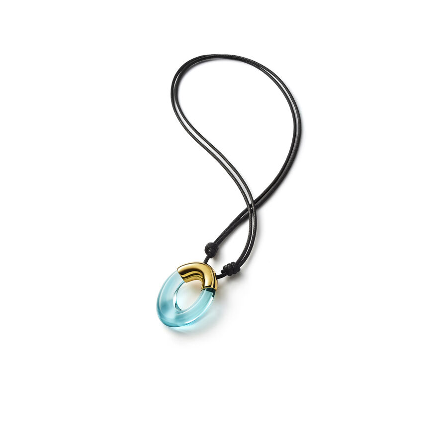 GALÉA SMALL PENDANT, Turquoise