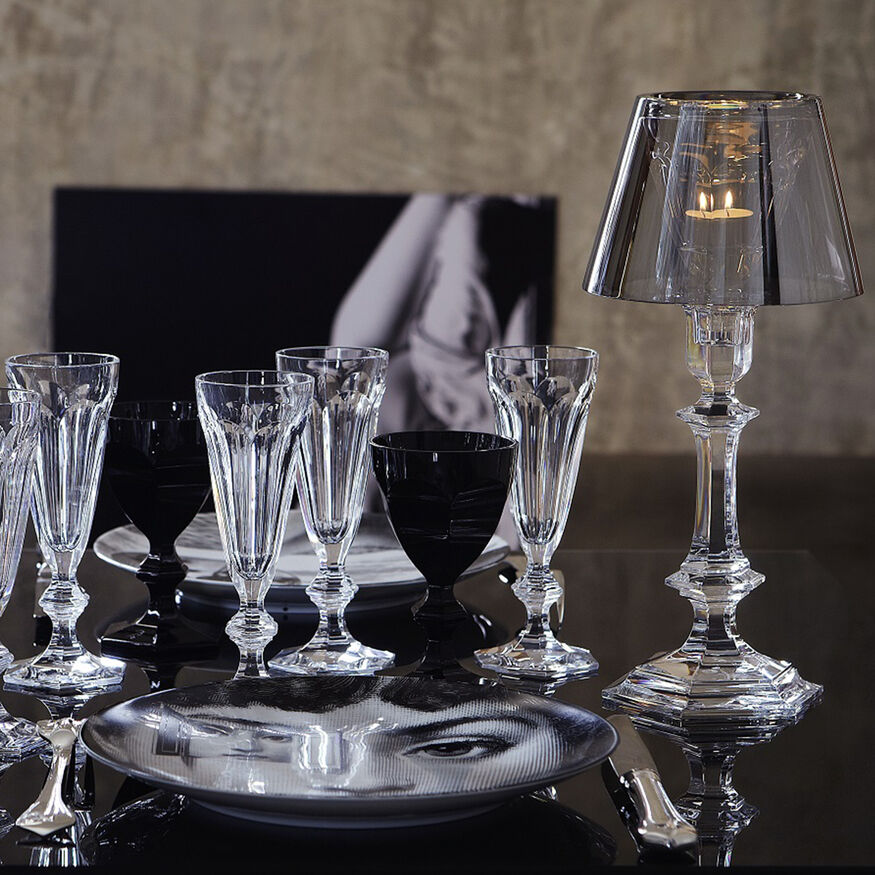 HARCOURT OUR FIRE CANDLESTICK, Silver