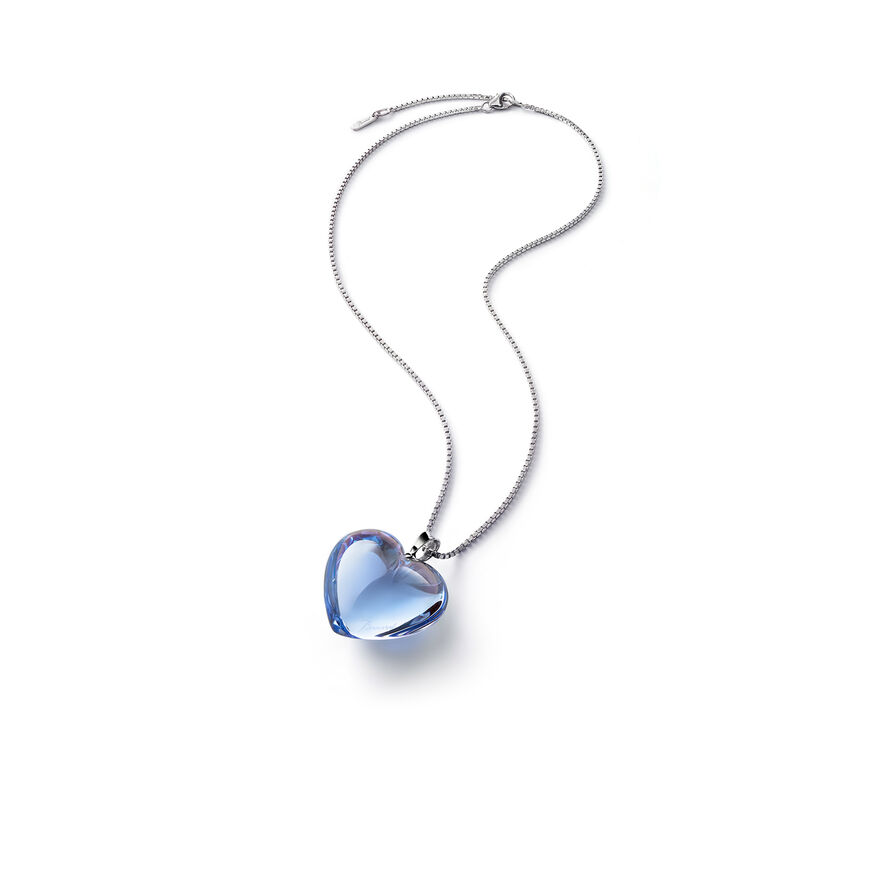ROMANCE COLLIER, Bleu clair miroir