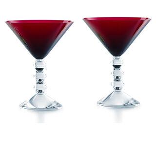 VÉGA MARTINI GLASS, Red