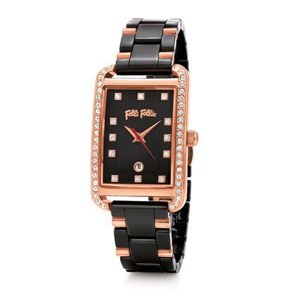 STYLE SWING 腕錶, Bracelet Black, hires