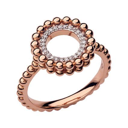 Effervescence 18kt Rose Gold & Diamond Ring, , hires