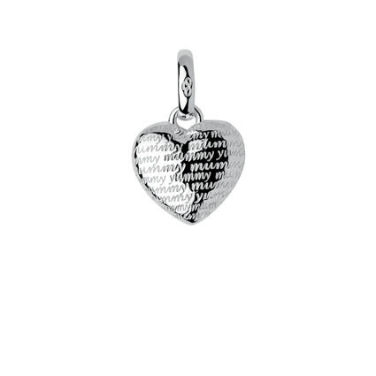 Sterling Silver Yummy Mummy Charm, , hires