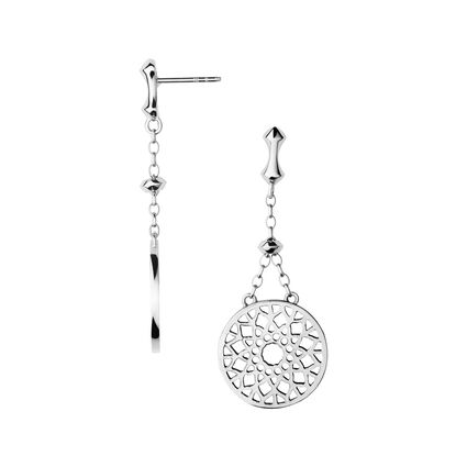 Timeless Sterling Silver Large Drop Earrings, , hires