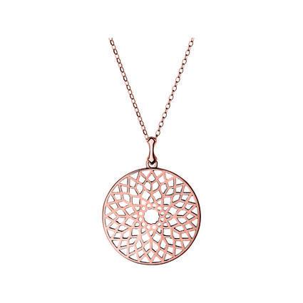 Timeless 18kt Rose Gold Vermeil Large Necklace, , hires