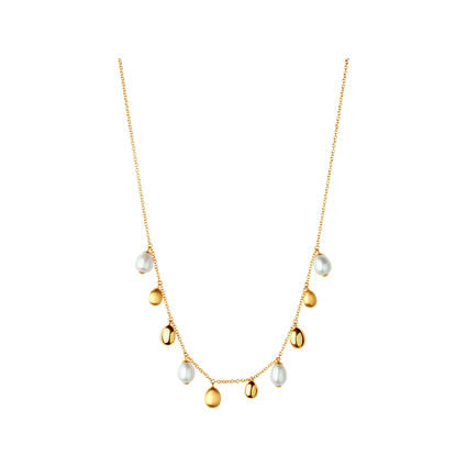 Hope 18kt Yellow Gold Pearl Necklace, , hires