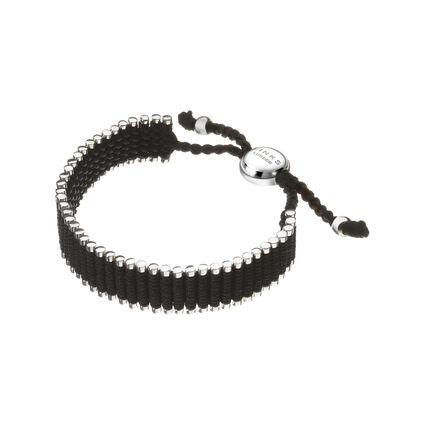 Black Friendship Bracelet, , hires