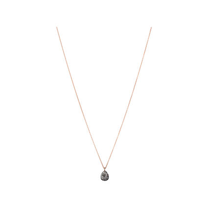 Hope 18kt Rose Gold & Black Diamond Necklace, , hires