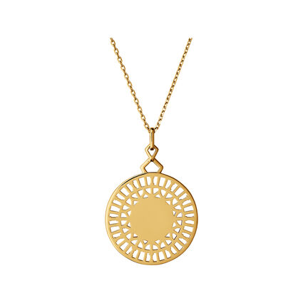 Timeless 18kt Yellow Gold Vermeil Necklace, , hires