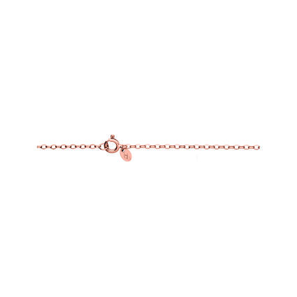 Timeless 18kt Rose Gold Vermeil Large Arch Necklace, , hires
