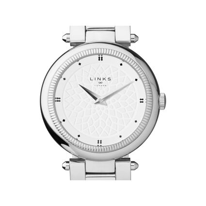 Timeless Stainless Steel Bracelet Watch, , hires