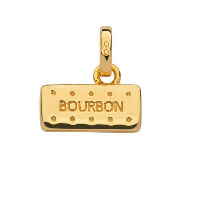 18kt Yellow Gold Vermeil Bourbon Biscuit Charm, , hires