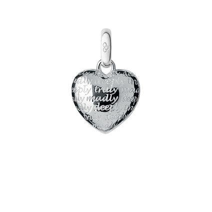 Sterling Silver Truly Madly Deeply Charm, , hires
