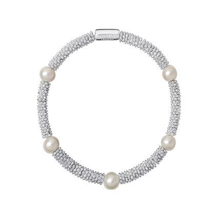 Effervescence Star XS Sterling Silver Pearl Bracelet, , hires