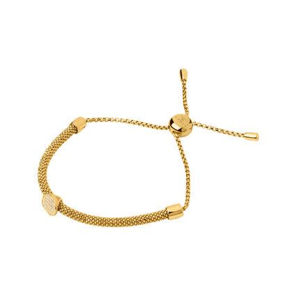 Starlight 18kt Yellow Gold Vermeil & Sapphire Round Bracelet, , hires