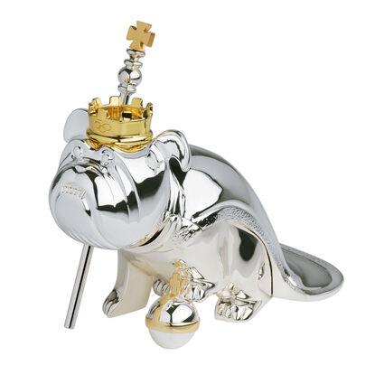 Silver Plate Regal Nodding Dog, , hires