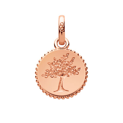Amulet 18kt Rose Gold Vermeil Tree of Life Charm, , hires