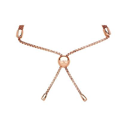 Starlight 18kt Rose Gold Vermeil & Sapphire Round Bracelet, , hires