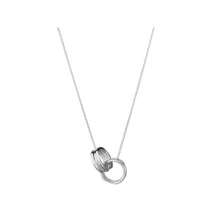 20/20 Sterling Silver Interlocking Necklace, , hires