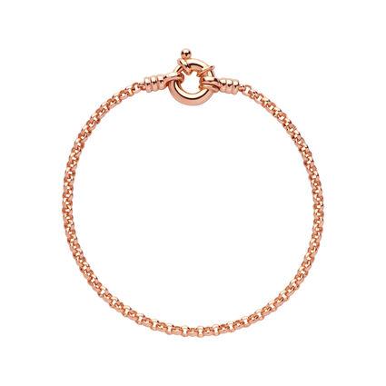 18kt Rose Gold Vermeil Mini Belcher Bracelet, , hires