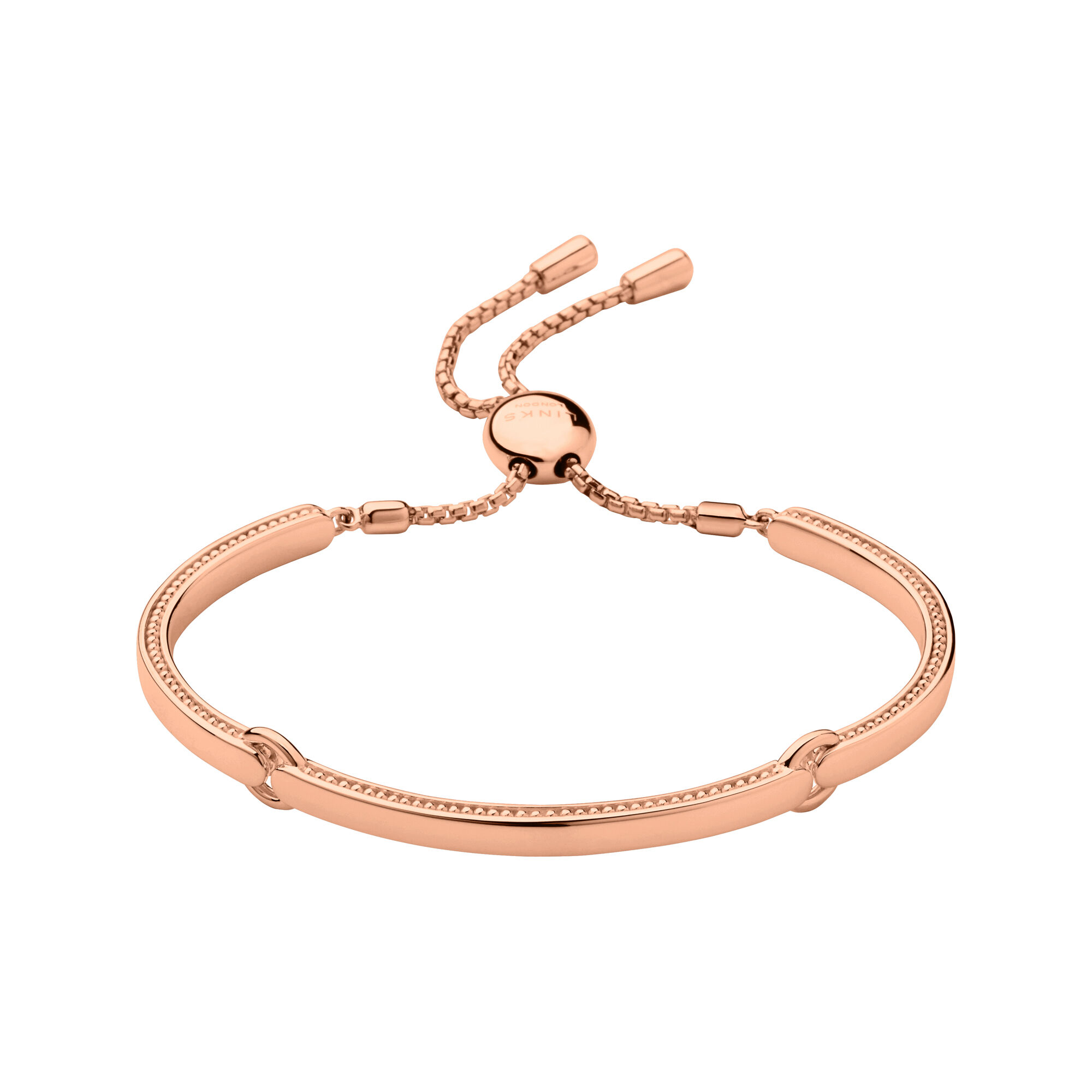 Narrative rose gold bracelet links of london for Baby jewelry near me