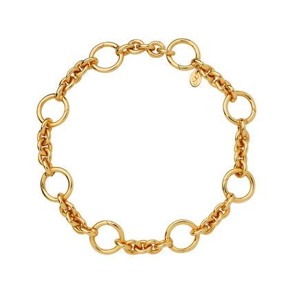 18kt Yellow Gold Vermeil Capture Charm Bracelet, , hires