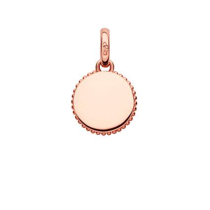 Narrative 18kt Rose Gold Vermeil Mini Disc Charm, , hires