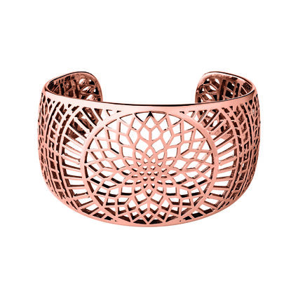 Timeless 18kt Rose Gold Vermeil Cuff, , hires