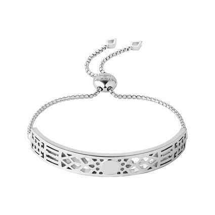Timeless Sterling Silver Toggle Bracelet, , hires