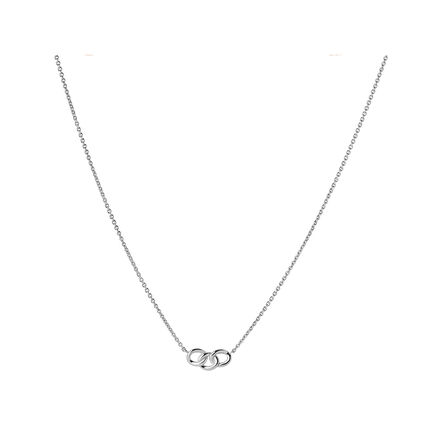 Essentials Sterling Silver Mini Necklace, , hires